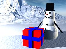 Free Snowman  31 Stock Photo - 638100