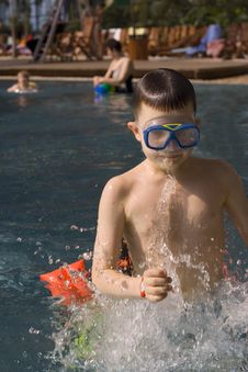Free Boy In Water Stock Photos - 638503