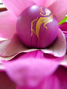 Free Violet Egg Stock Photo - 639810