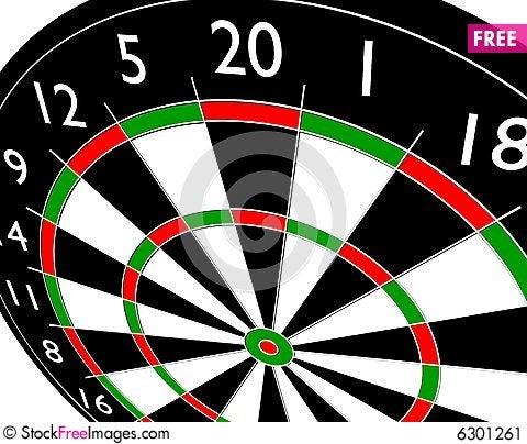 Free Target Dart Stock Image - 6301261