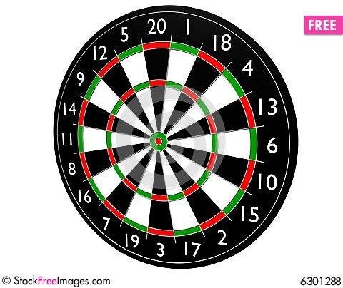 Free Target Dart Royalty Free Stock Photos - 6301288