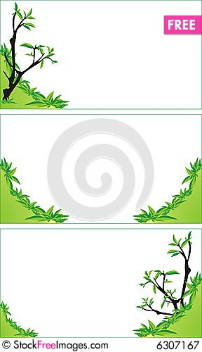 Trees and bushes background for business cards free stock images background for business cards reheart Choice Image