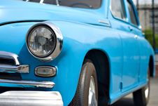 Free Blue Retro Car Stock Photos - 6300073