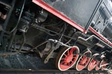 Free Steam Locomotive Wheels Stock Photo - 6300190