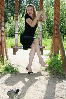 Free Cheerful Girl Royalty Free Stock Photos - 6300268