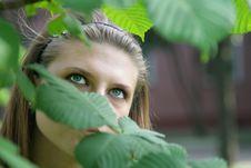 Free Blue-eyed Girl Royalty Free Stock Photography - 6300367
