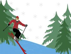 Free Skiier Stock Images - 6300504