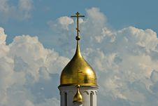Free Church Cupola On Sky Background Royalty Free Stock Photo - 6300515