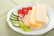 Free Dietetic Sandwich Stock Photography - 6300542