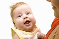 Free Happy Baby With Mom Stock Images - 6300984