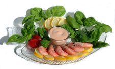 Free Sauce And Shrimps Stock Photos - 6301423
