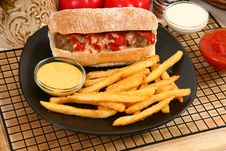 Free Italian Meatball Sandwhich Stock Photos - 6301473