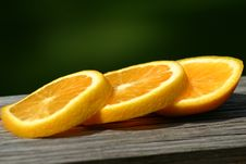 Free Orange Slices Royalty Free Stock Photos - 6301658