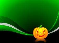 Free Vector Illustration On A Halloween Theme Stock Image - 6302001