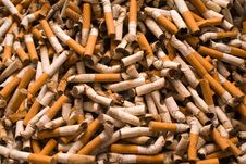 Free Cigarette-ends Royalty Free Stock Photography - 6303537