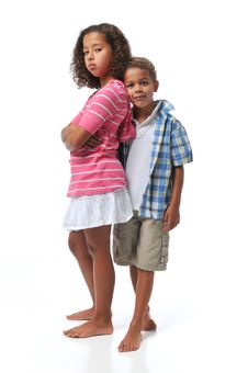 Free Brother And Sister Royalty Free Stock Photos - 6303828