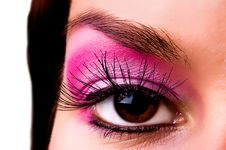 Free Eye With A Make-up Royalty Free Stock Photos - 6303958