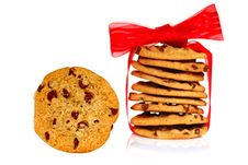 Free Chocolate Chip Cookies Royalty Free Stock Photography - 6304267