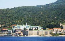 Free Monastery St. Panteleimon Royalty Free Stock Photos - 6304288