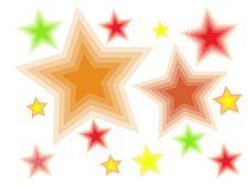 Free Acid Stars Background Royalty Free Stock Photography - 6304327