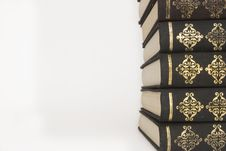 Free Books Isolated Stock Photography - 6304472