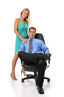 Free Boss And Secretary Royalty Free Stock Image - 6304666