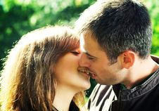 Free Young Beautiful Couple. Royalty Free Stock Images - 6304689