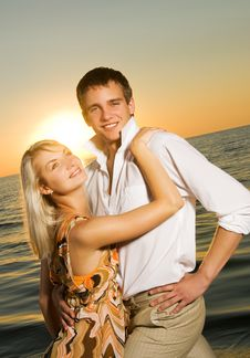 Free Young Couple In Love Stock Photography - 6304732