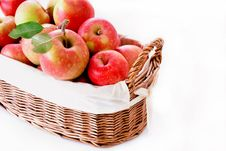 Bushel Of Apples Royalty Free Stock Image