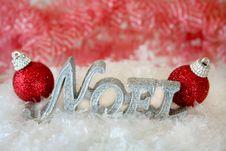 Free Christmas Noel Stock Image - 6304921