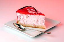 Free Strawberry Cheesecake Stock Photos - 6304963