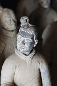 Chinese Terracotta Warrior Stock Image