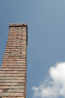Free Chimney And Clouds Royalty Free Stock Photo - 6305395