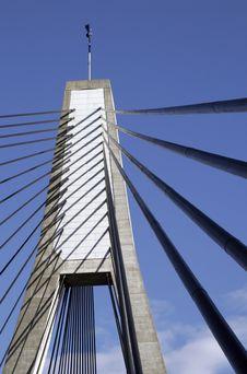 Anzac Bridge, Sydney, Australia Royalty Free Stock Photography