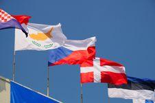 Free Various National Flags Stock Photos - 6306233