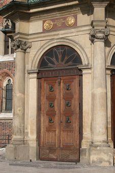Free Church, Main Entrance Royalty Free Stock Photos - 6306898