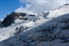 Free Snow Covered Glacier Stock Photo - 6307160