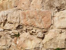 Stone Wall. Fragment Stock Photography