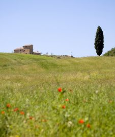 TUSCANY Farm Royalty Free Stock Photography
