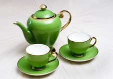Free Green Porcelain Royalty Free Stock Images - 6307649