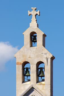Free Belltower On A Background Of The Blue Sky. Royalty Free Stock Images - 6308139