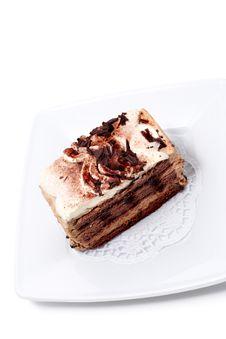 Free Dessert - Chocolate Cheesecake Stock Photo - 6308220