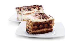 Free Dessert - Chocolate Cheesecake Royalty Free Stock Photography - 6308247