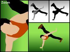 Free Rocking Dancer Royalty Free Stock Photos - 6308348