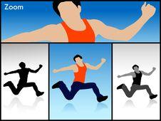 Free Jumping Man Stock Image - 6308351