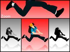 Free Jumping Man Royalty Free Stock Image - 6308516