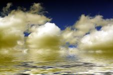Free Abstract Sky And Clouds Royalty Free Stock Photography - 6308837