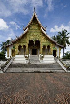 Temple Ho Kham, Luang Prabang, Laos Royalty Free Stock Photography