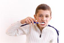 Free Wash Teeth Royalty Free Stock Image - 6309026