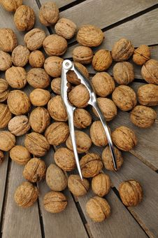 Free Nuts An Nutcracker Stock Photos - 6309533